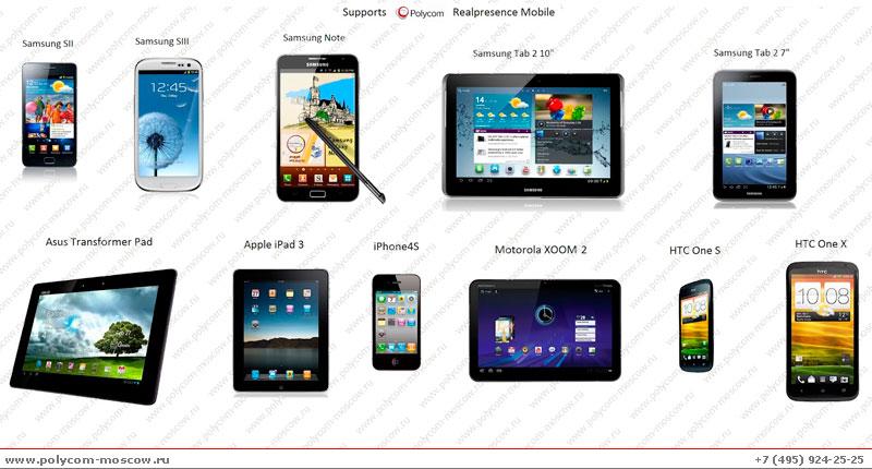 Polycom RealPresence Mobile — бесплатное приложение для